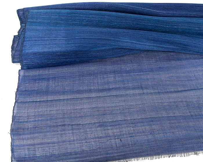 Craft & Millinery Supplies -- Trish Millinery- cotton abaca royal blue