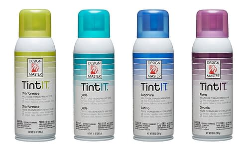 Craft & Millinery Supplies -- Trish Millinery- design master tintit spray