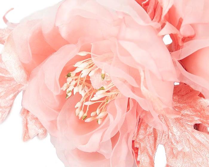 Craft & Millinery Supplies -- Trish Millinery- FL45 pink closeup