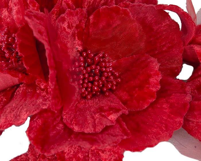 Craft & Millinery Supplies -- Trish Millinery- FL44 red closeup