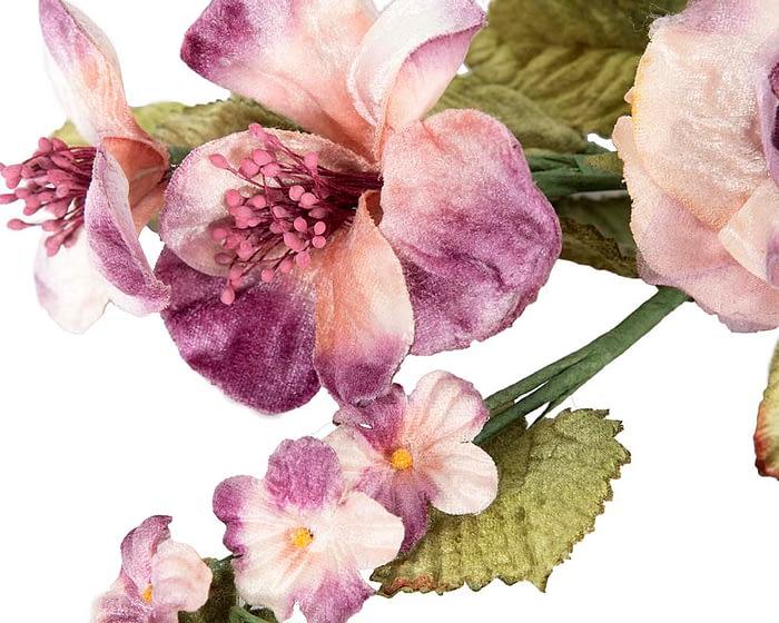 Craft & Millinery Supplies -- Trish Millinery- FL55 lilac closeup