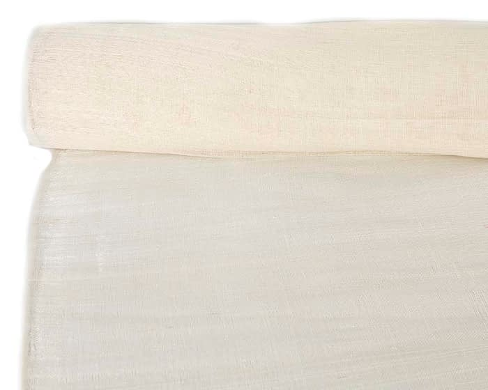 Craft & Millinery Supplies -- Trish Millinery- cotton abaca cream