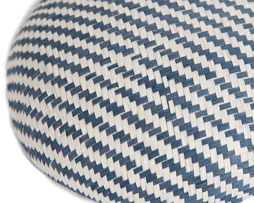 Craft & Millinery Supplies -- Trish Millinery- SH6 white denim closeup
