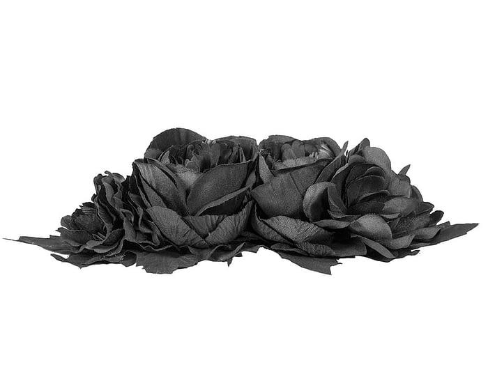 Craft & Millinery Supplies -- Trish Millinery- FL64 black side