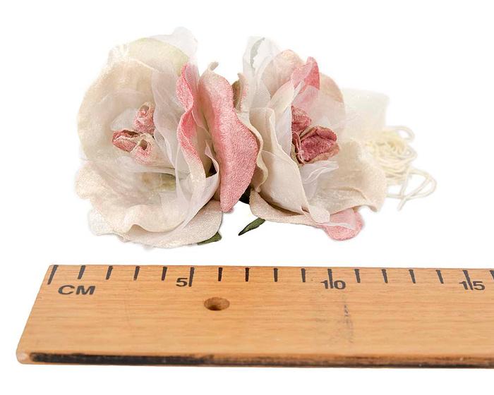 Craft & Millinery Supplies -- Trish Millinery- FL47 dusty pink2