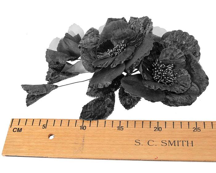 Craft & Millinery Supplies -- Trish Millinery- FL44 black