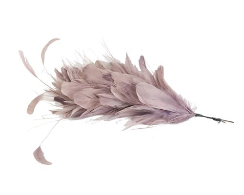 Craft & Millinery Supplies -- Trish Millinery- FTHB7 dusty pink