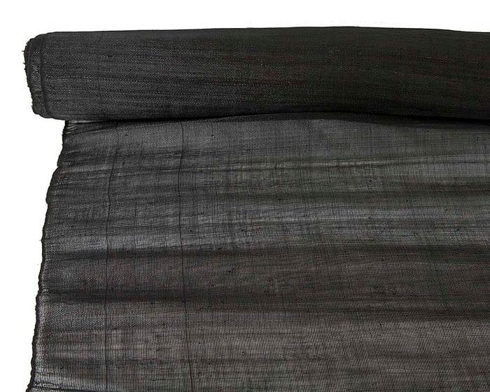 Craft & Millinery Supplies -- Trish Millinery- cotton abaca black