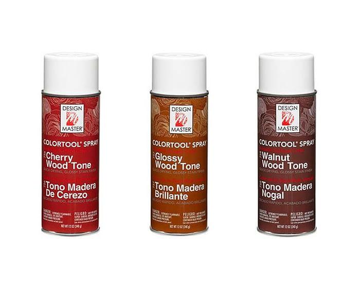 Craft & Millinery Supplies -- Trish Millinery- design master wood tone spray