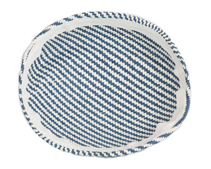 Craft & Millinery Supplies -- Trish Millinery- SH4 white denim back