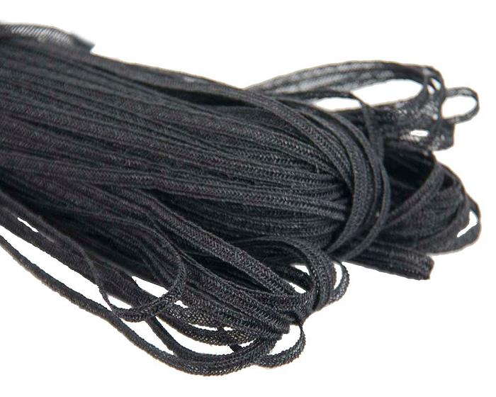 Craft & Millinery Supplies -- Trish Millinery- hemp braid black