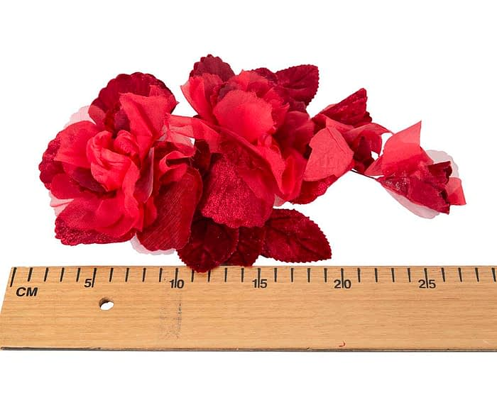 Craft & Millinery Supplies -- Trish Millinery- FL43 red