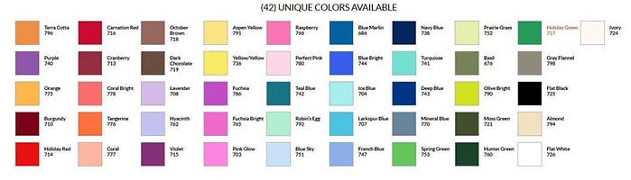Craft & Millinery Supplies -- Trish Millinery- design master colortool professional sprays colorchart