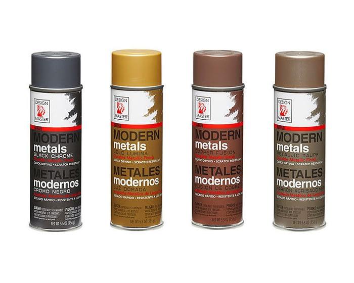 Craft & Millinery Supplies -- Trish Millinery- design master modern metals professional spray