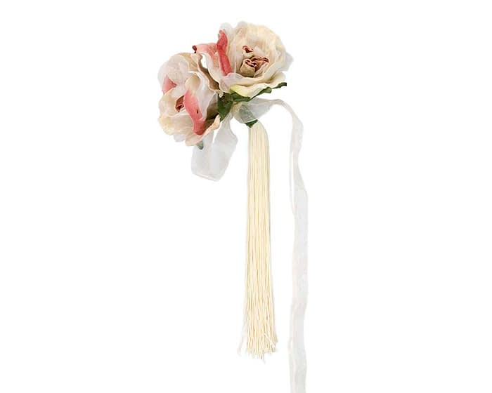 Craft & Millinery Supplies -- Trish Millinery- FL47 dusty pink