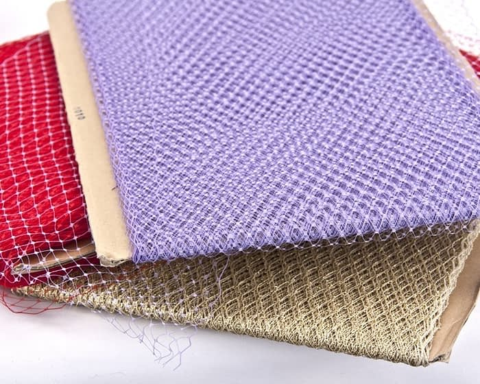 Craft & Millinery Supplies -- Trish Millinery- face veiling netting millinery
