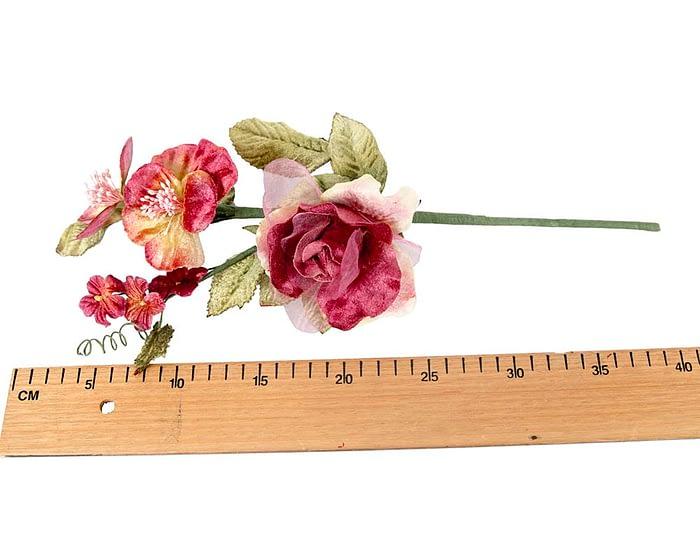 Craft & Millinery Supplies -- Trish Millinery- FL55 burgundy