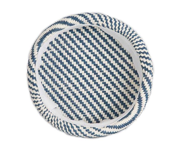Craft & Millinery Supplies -- Trish Millinery- SH6 white denim back