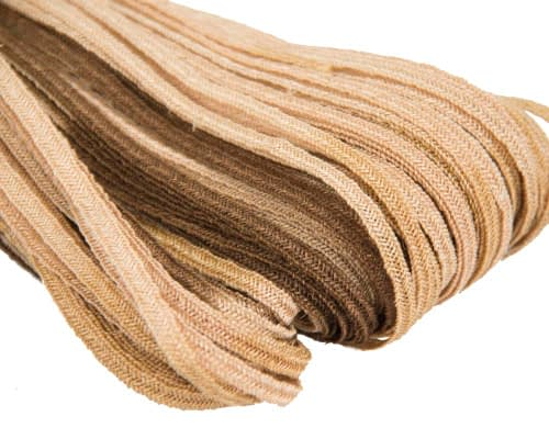 Craft & Millinery Supplies -- Trish Millinery- hemp braid gold