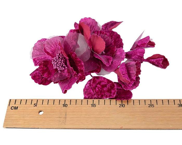 Craft & Millinery Supplies -- Trish Millinery- FL44 purple