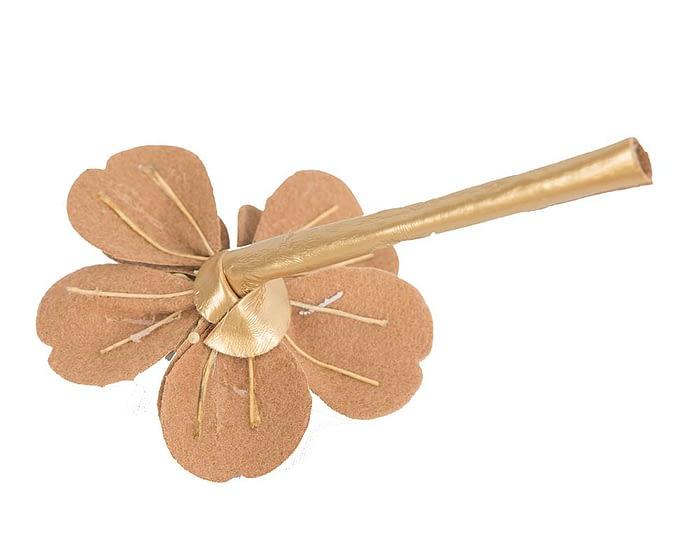 Craft & Millinery Supplies -- Trish Millinery- FL44 gold back