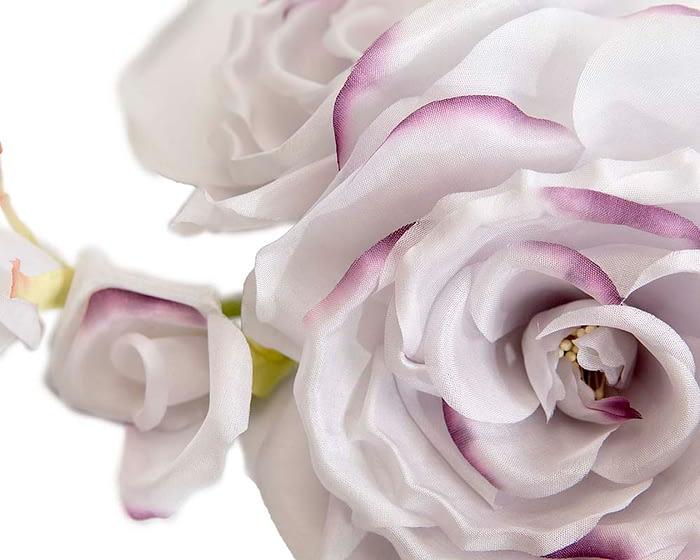 Craft & Millinery Supplies -- Trish Millinery- FL46 lilac closeup