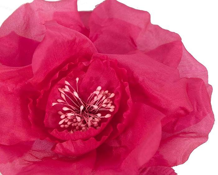 Craft & Millinery Supplies -- Trish Millinery- FL51 hot pink closeup
