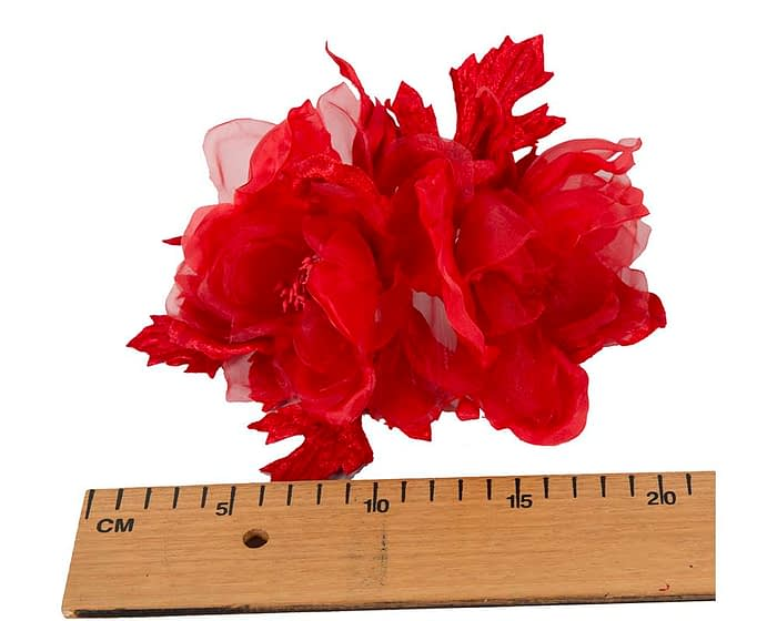 Craft & Millinery Supplies -- Trish Millinery- FL45 red