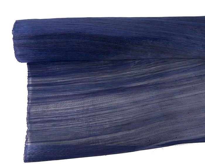 Craft & Millinery Supplies -- Trish Millinery- silk abaca navy