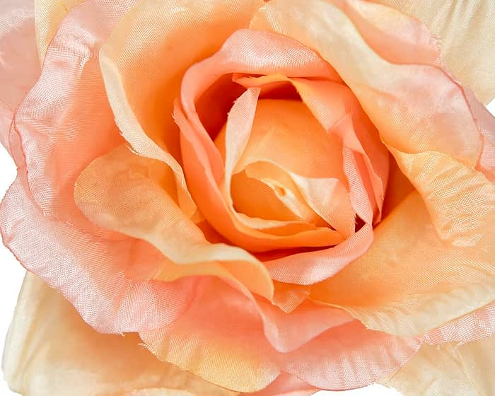 Craft & Millinery Supplies -- Trish Millinery- FL50 peach closeup