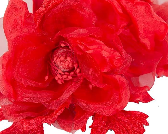 Craft & Millinery Supplies -- Trish Millinery- FL45 red closeup