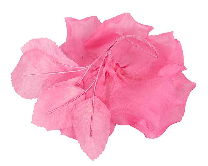 Craft & Millinery Supplies -- Trish Millinery- FL51 pink closeup back
