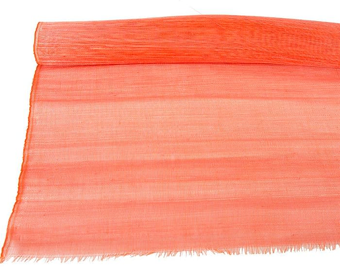Craft & Millinery Supplies -- Trish Millinery- cotton abaca orange