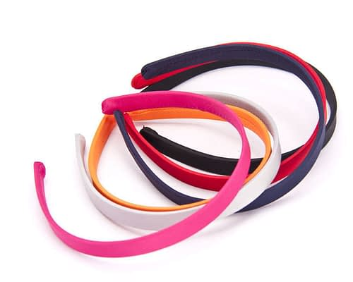 Craft & Millinery Supplies -- Trish Millinery- 13mm satin covered headband millinery1