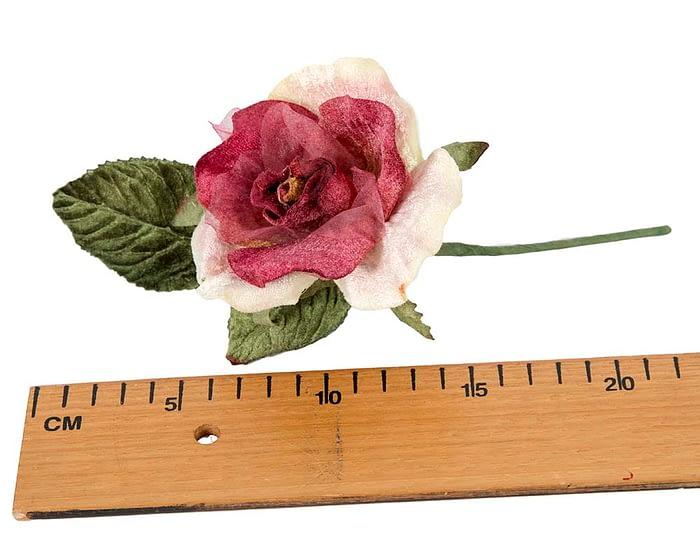 Craft & Millinery Supplies -- Trish Millinery- FL62 rose