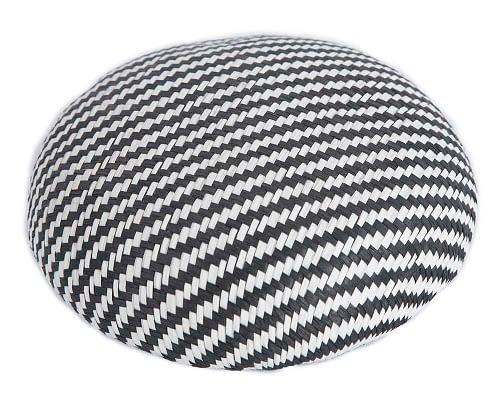 Craft & Millinery Supplies -- Trish Millinery- SH6 white black1