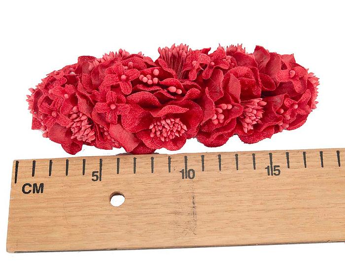 Craft & Millinery Supplies -- Trish Millinery- FL42 red
