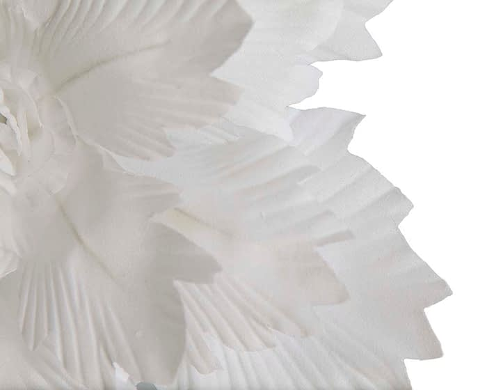Craft & Millinery Supplies -- Trish Millinery- FL15 white closeup