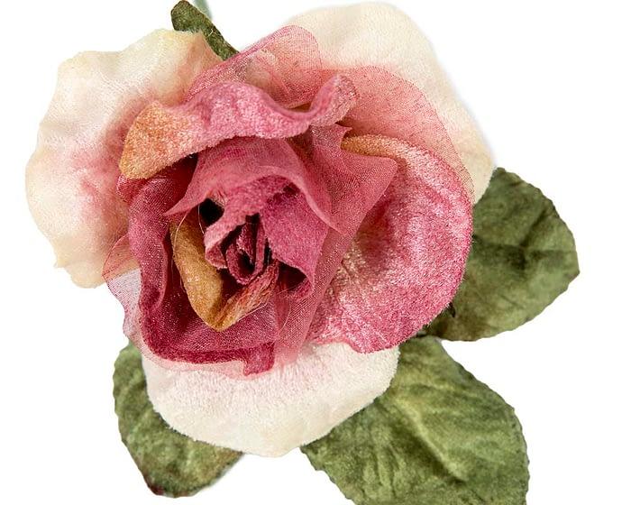 Craft & Millinery Supplies -- Trish Millinery- FL61 rose closeup