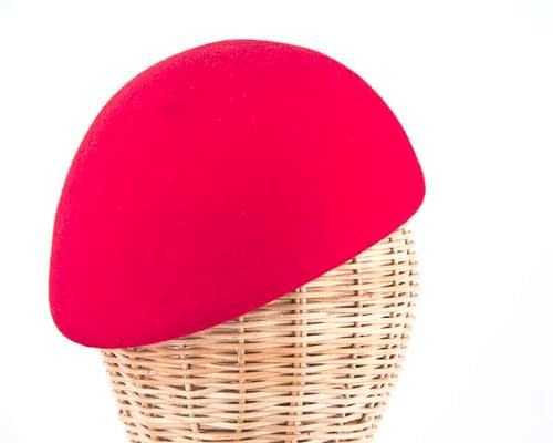 Craft & Millinery Supplies -- Trish Millinery- red felt beret hat shape