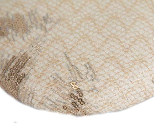 Craft & Millinery Supplies -- Trish Millinery- SH3 cream closeup