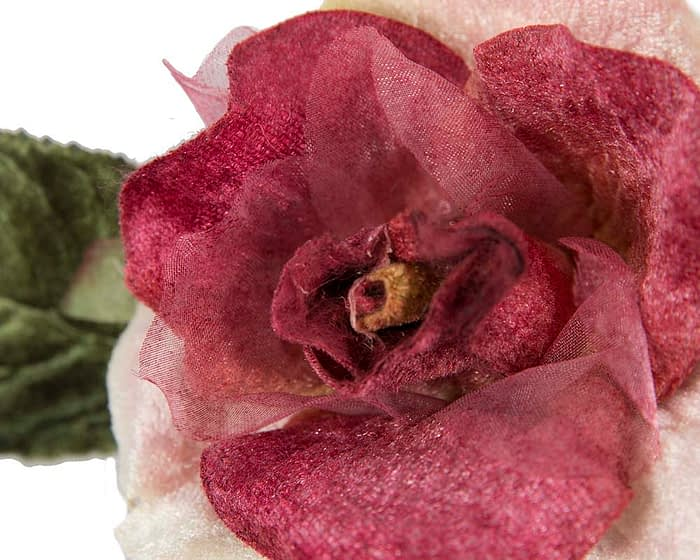 Craft & Millinery Supplies -- Trish Millinery- FL62 rose closeup