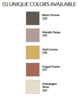 Craft & Millinery Supplies -- Trish Millinery- design master modern metals professional spray colorchart