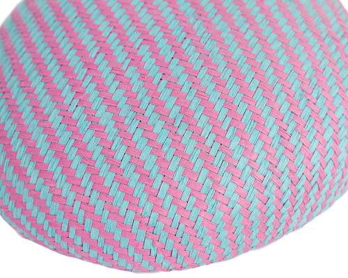 Craft & Millinery Supplies -- Trish Millinery- SH6 aqua hot pink closeup