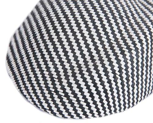 Craft & Millinery Supplies -- Trish Millinery- SH4 white black closeup