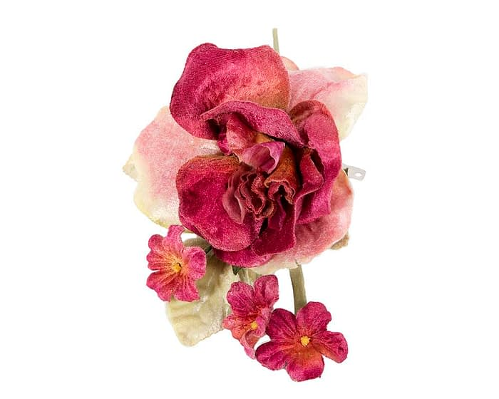 Craft & Millinery Supplies -- Trish Millinery- FL52 rose closeup