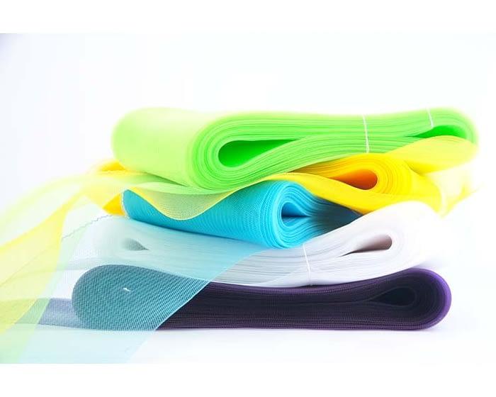 Craft & Millinery Supplies -- Trish Millinery- crinoline 6 inches packs