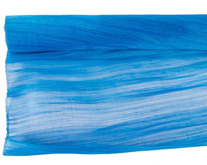 Craft & Millinery Supplies -- Trish Millinery- silk abaca light royal blue