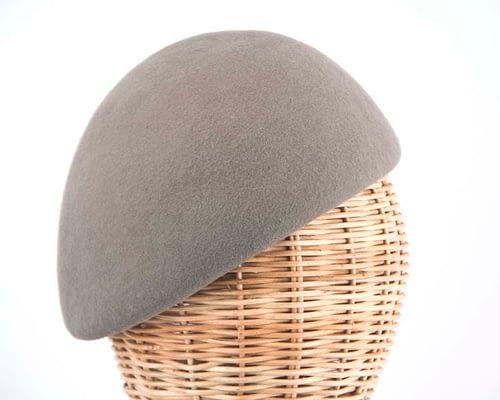Craft & Millinery Supplies -- Trish Millinery- grey felt beret hat shape