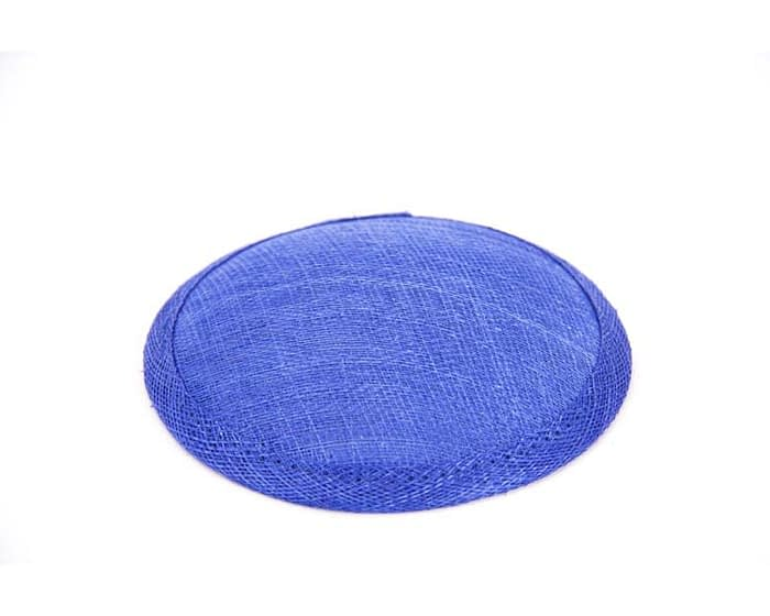 Craft & Millinery Supplies -- Trish Millinery- 12mm royal blue round sinamay fascinator base